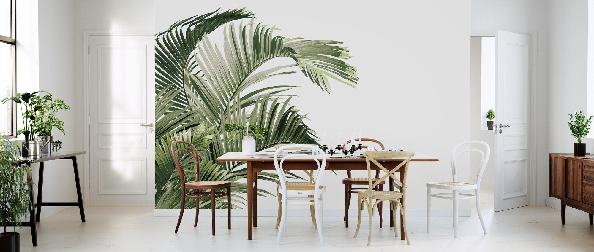 Piece of Paradise - Viridescent - Wallpaper - Kitchen