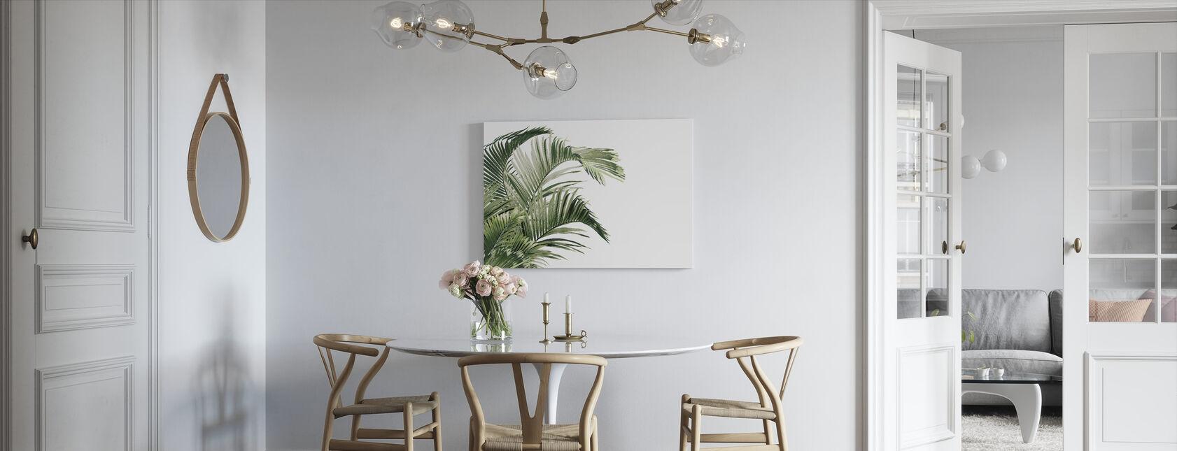 Stykke av Paradis - Viridescent - Lerretsbilde - Kjøkken
