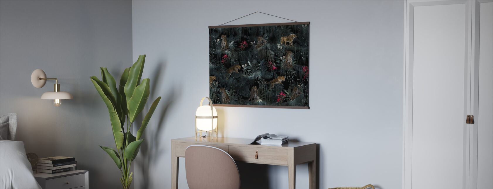 Lush Leopards - Poster - Office