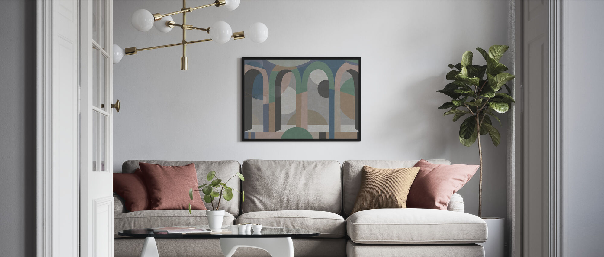 Archform - Framed print - Living Room