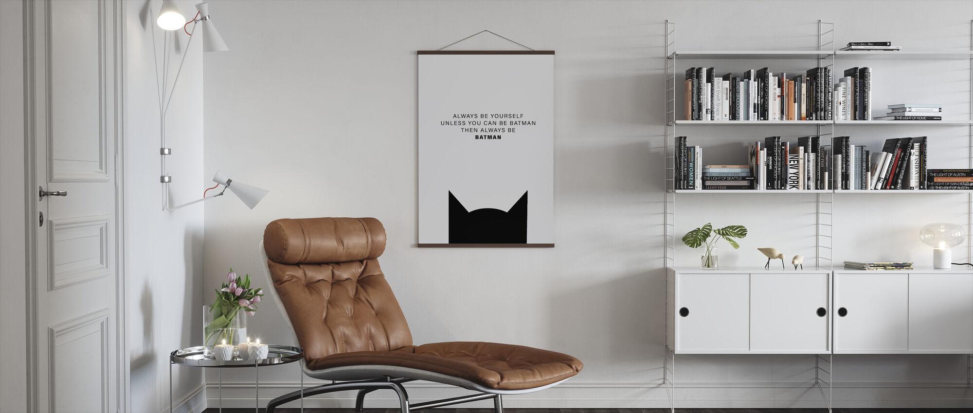 Batman - Poster - Living Room
