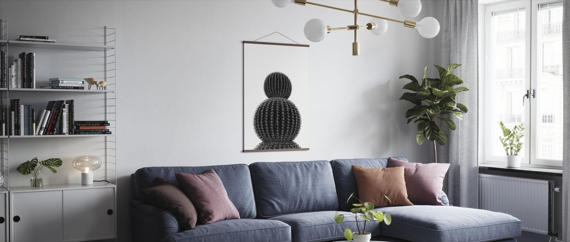 Musta Kaktus III - Juliste - Olohuone