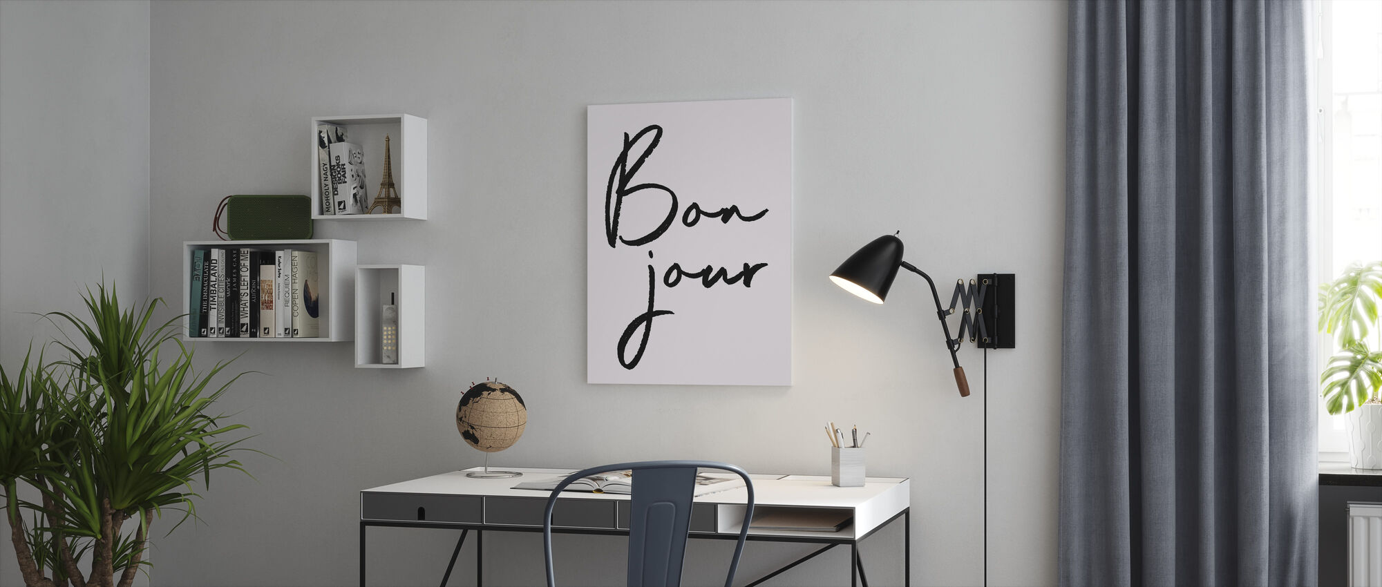 Hallo - Canvas print - Kantoor
