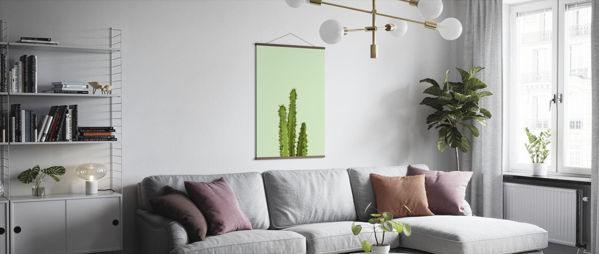 Kaktus - Vihreä - Juliste - Olohuone