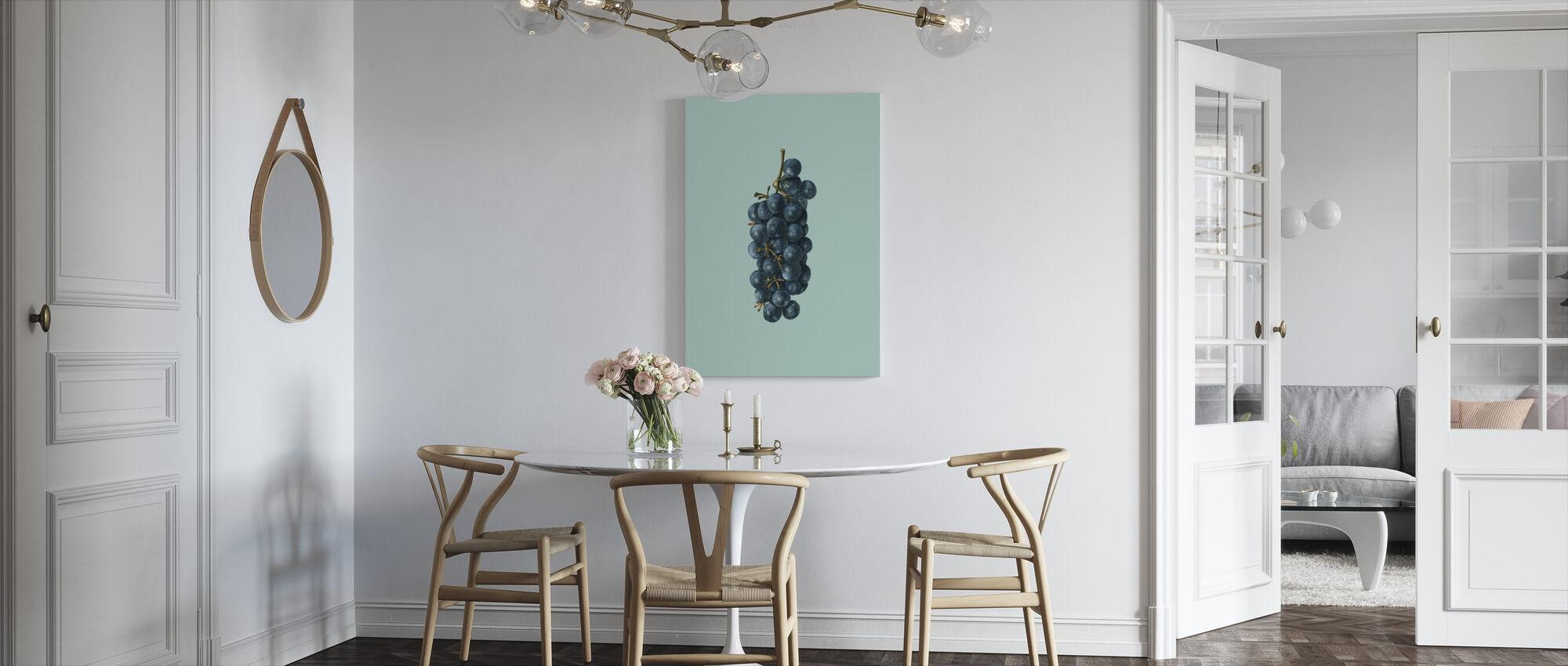 Druiven - Canvas print - Keuken