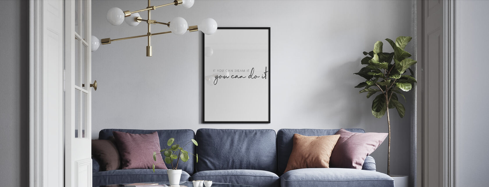 If You Can Dream - Framed print - Living Room