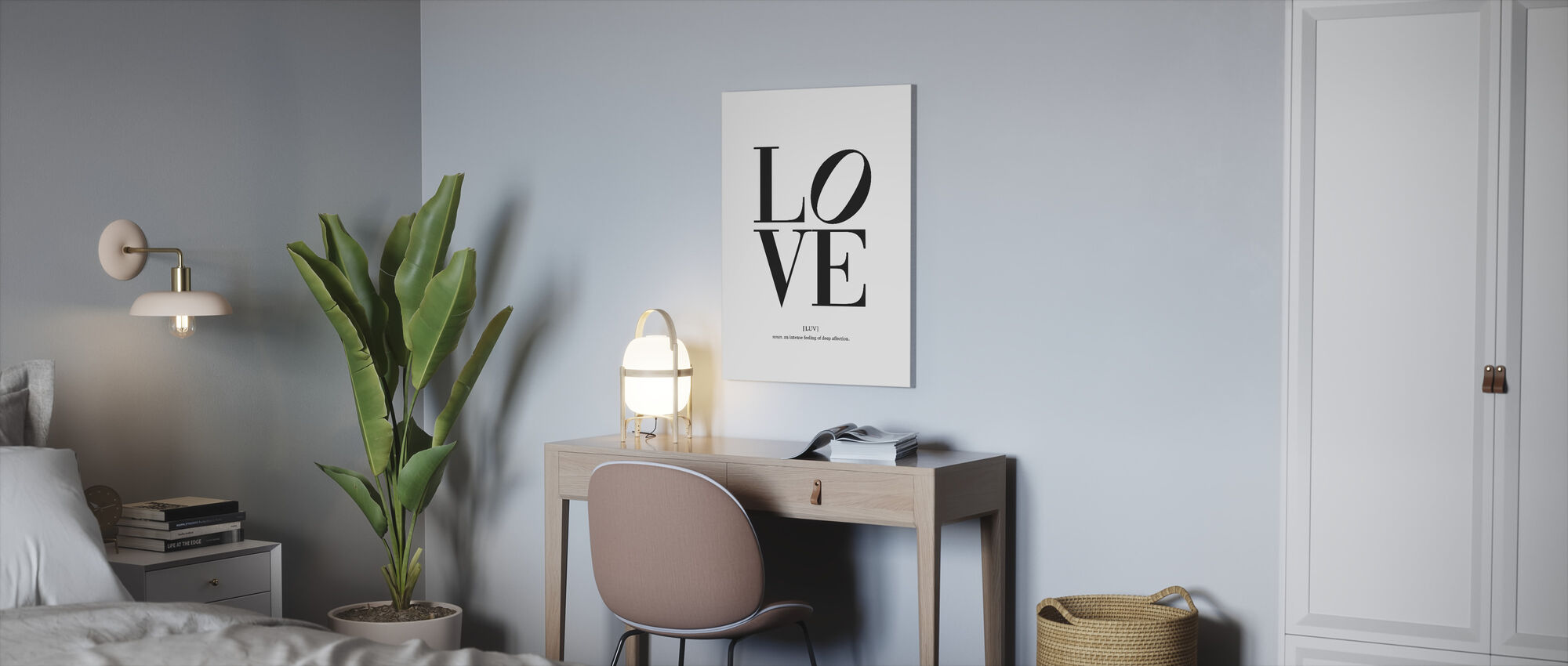 Love - Deep Affection - Canvas print - Office