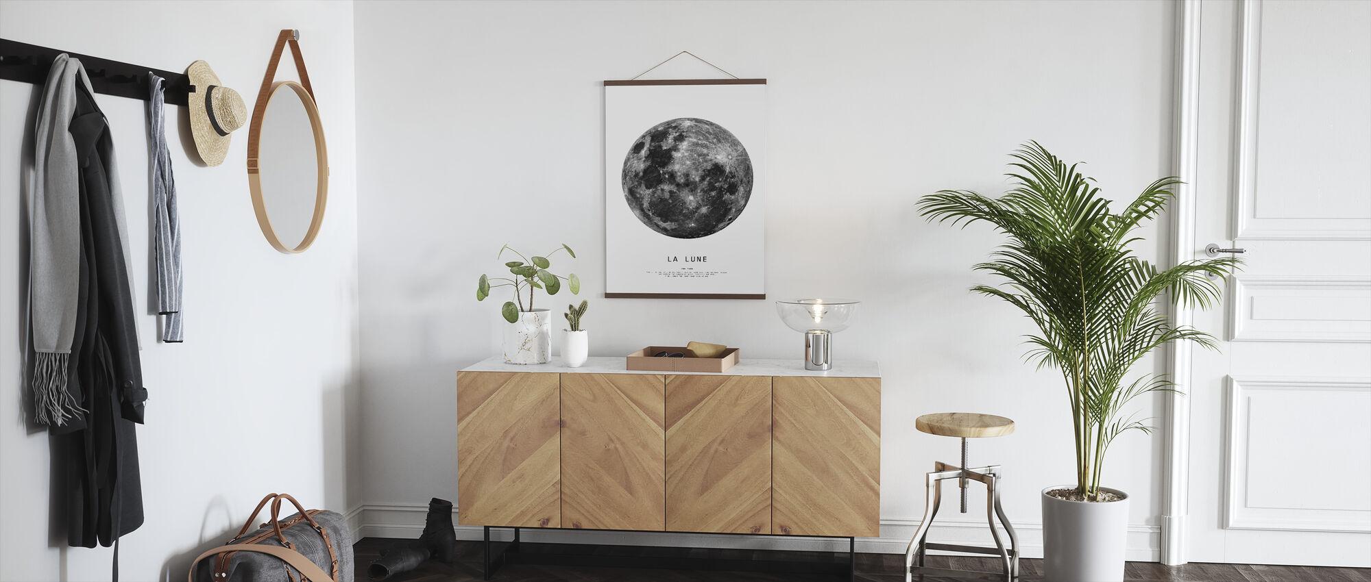 Månen - Poster - Hall