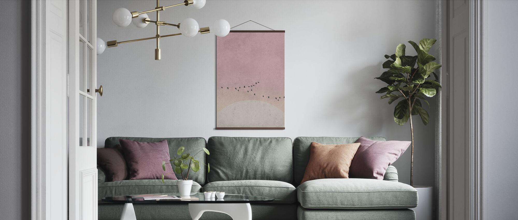 Moonbirds III - Poster - Vardagsrum