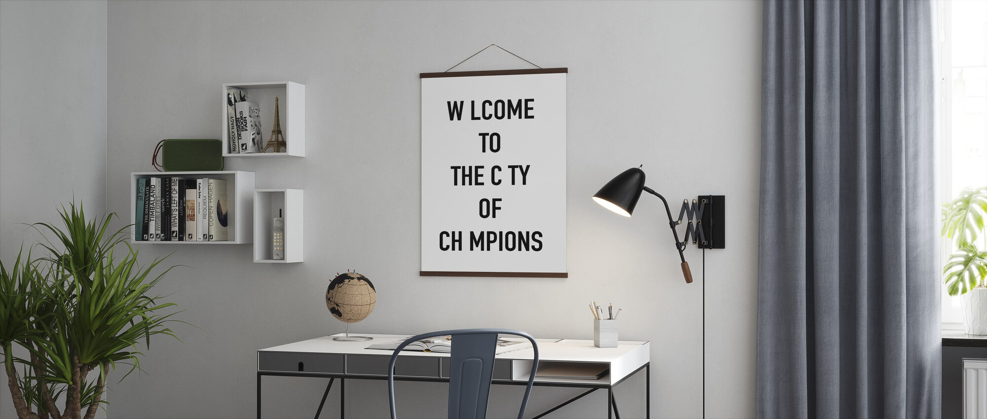 City of Champions - Poster - Office