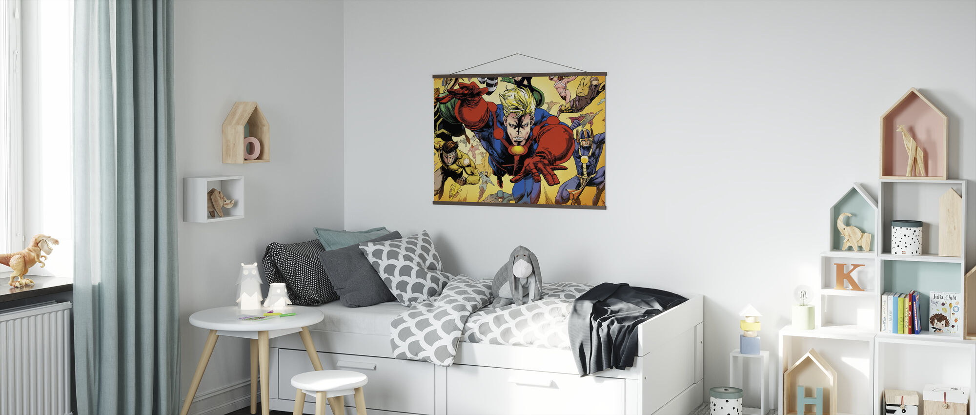 Superheros - Poster - Kids Room