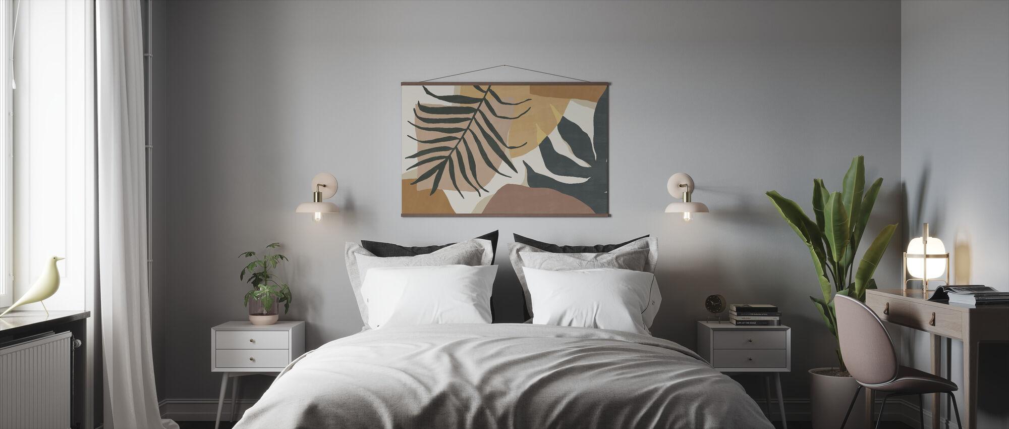 Bold Manaus - Peach - Poster - Bedroom