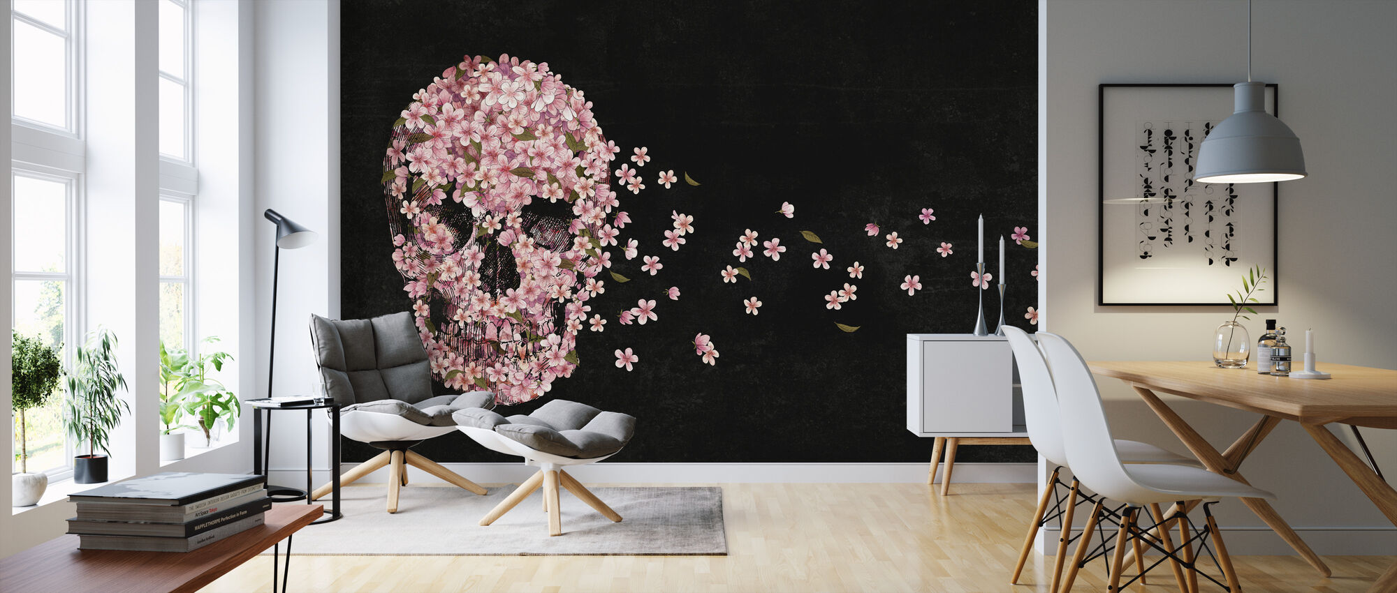Beautiful Death - Wallpaper - Living Room