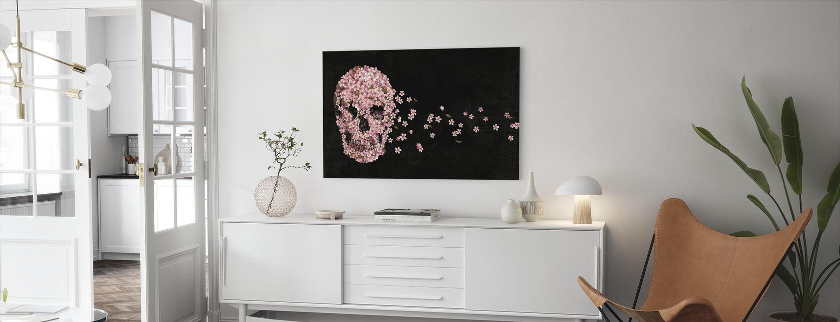 Vakker død - Lerretsbilde - Stue