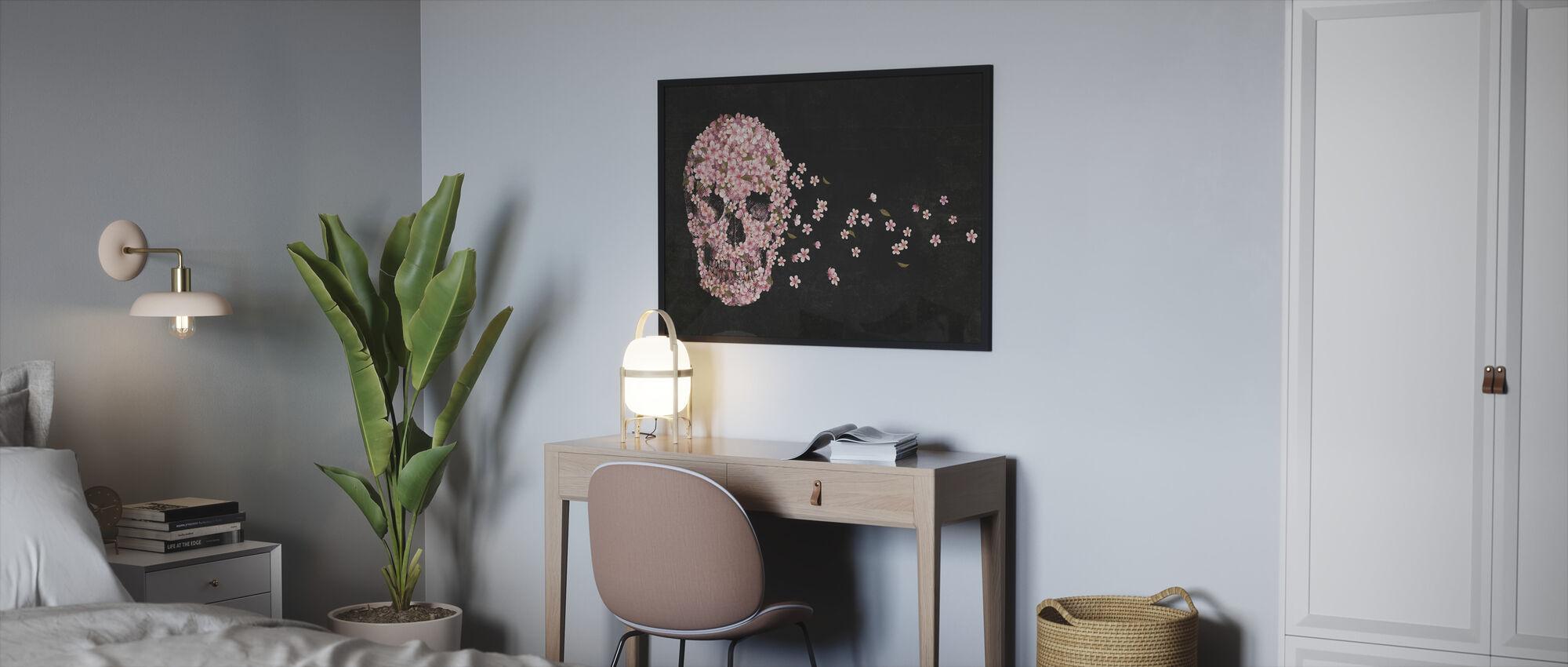 Kaunis kuolema - Kehystetty kuva - Makuuhuone
