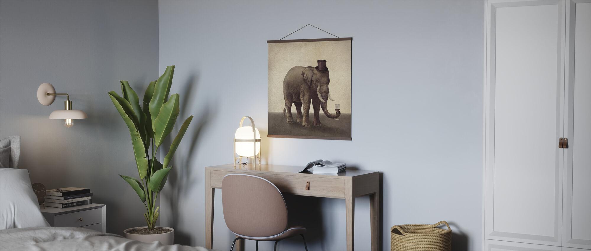 Fine Vintage - Poster - Office