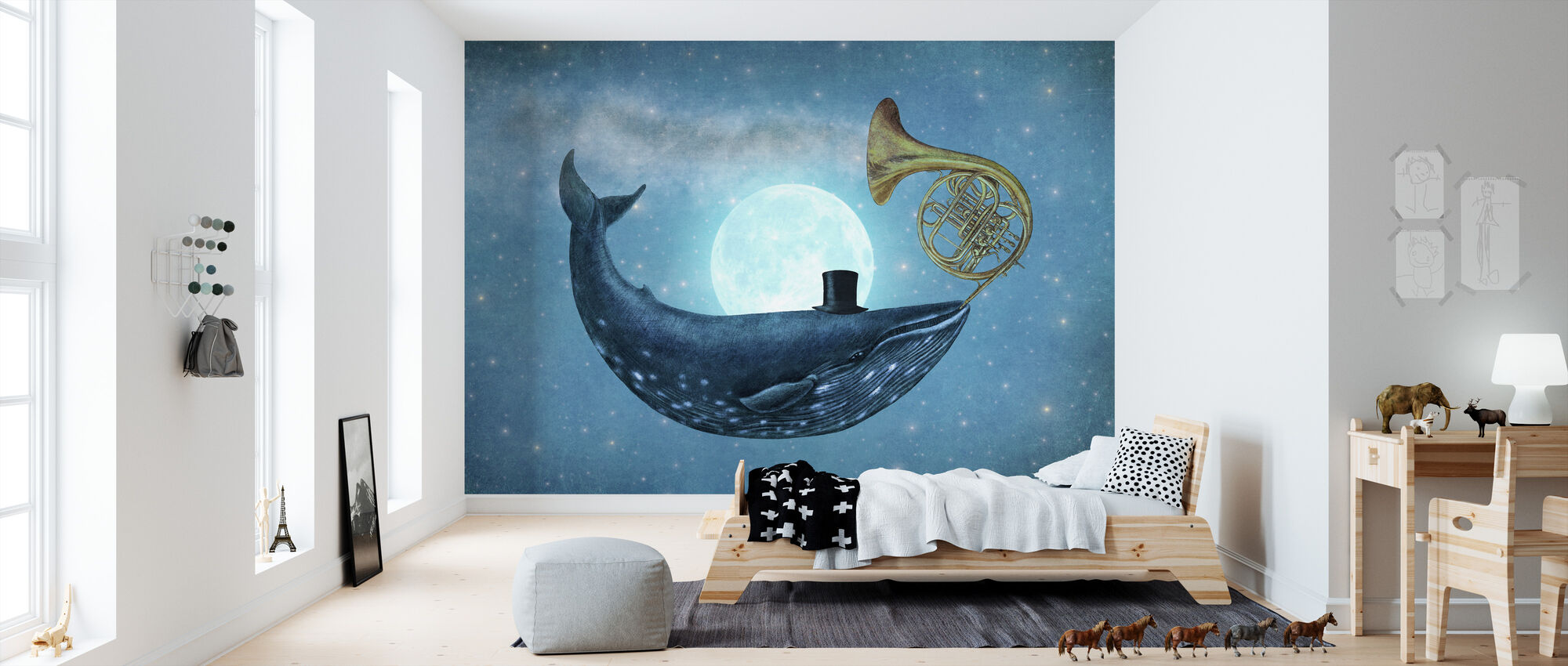 Cloud Maker landscape - Wallpaper - Kids Room