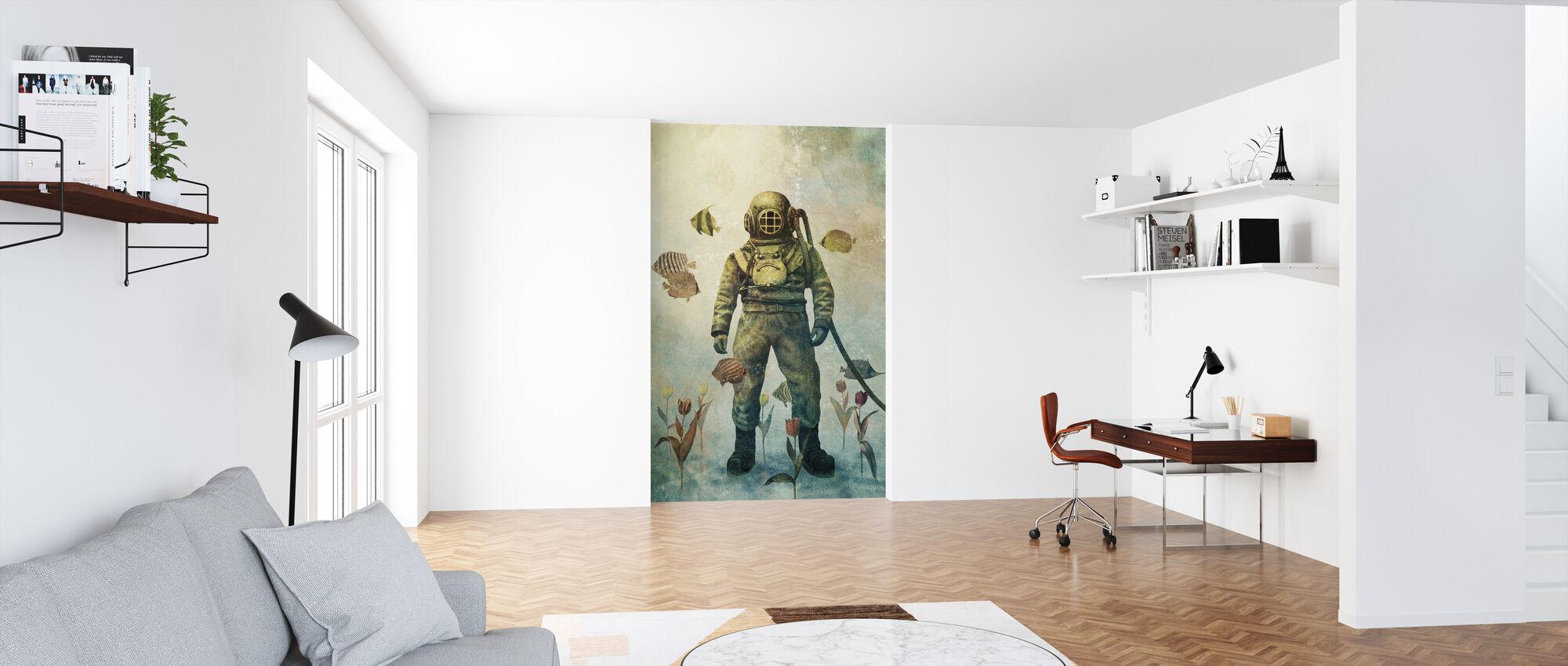 Deep Sea Garden - Wallpaper - Office