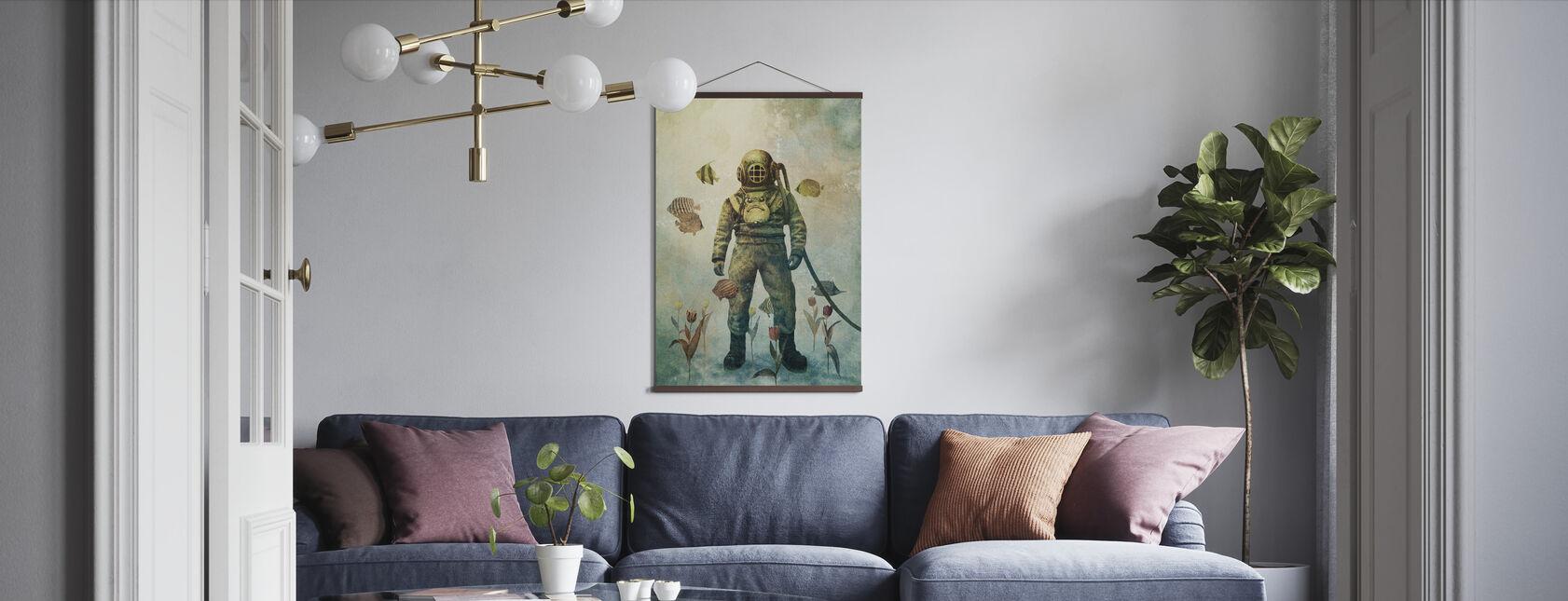 Deep Sea Garden - Poster - Living Room