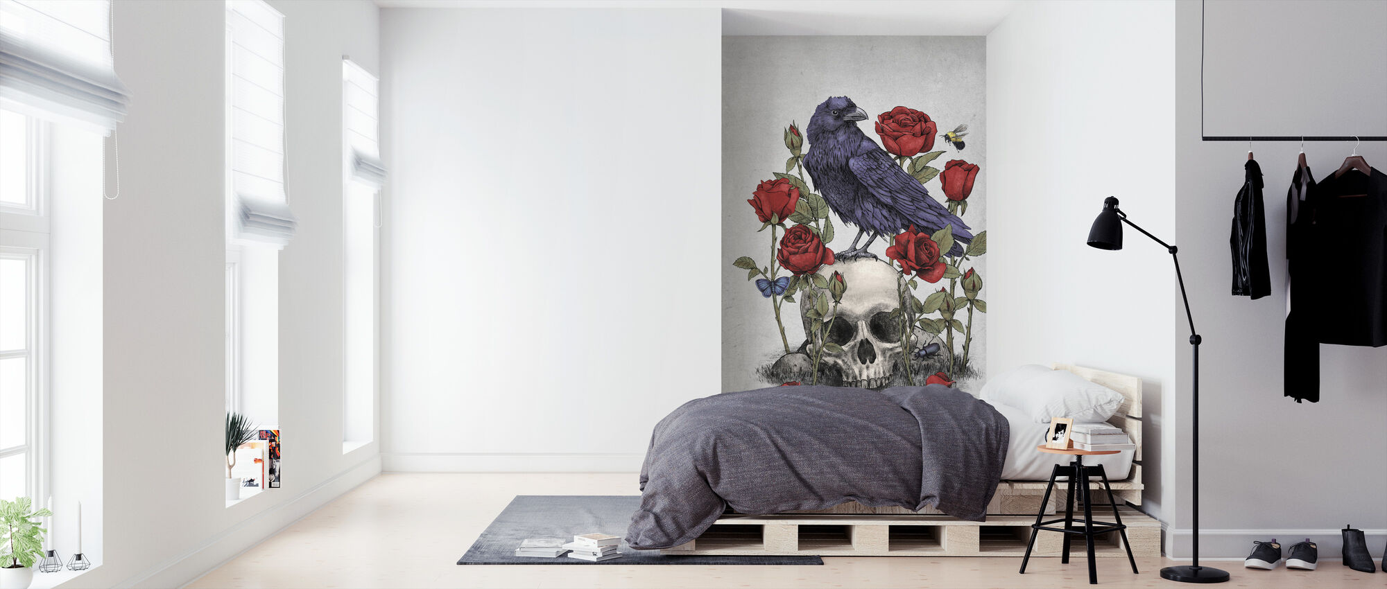 Memento Mori - Wallpaper - Bedroom