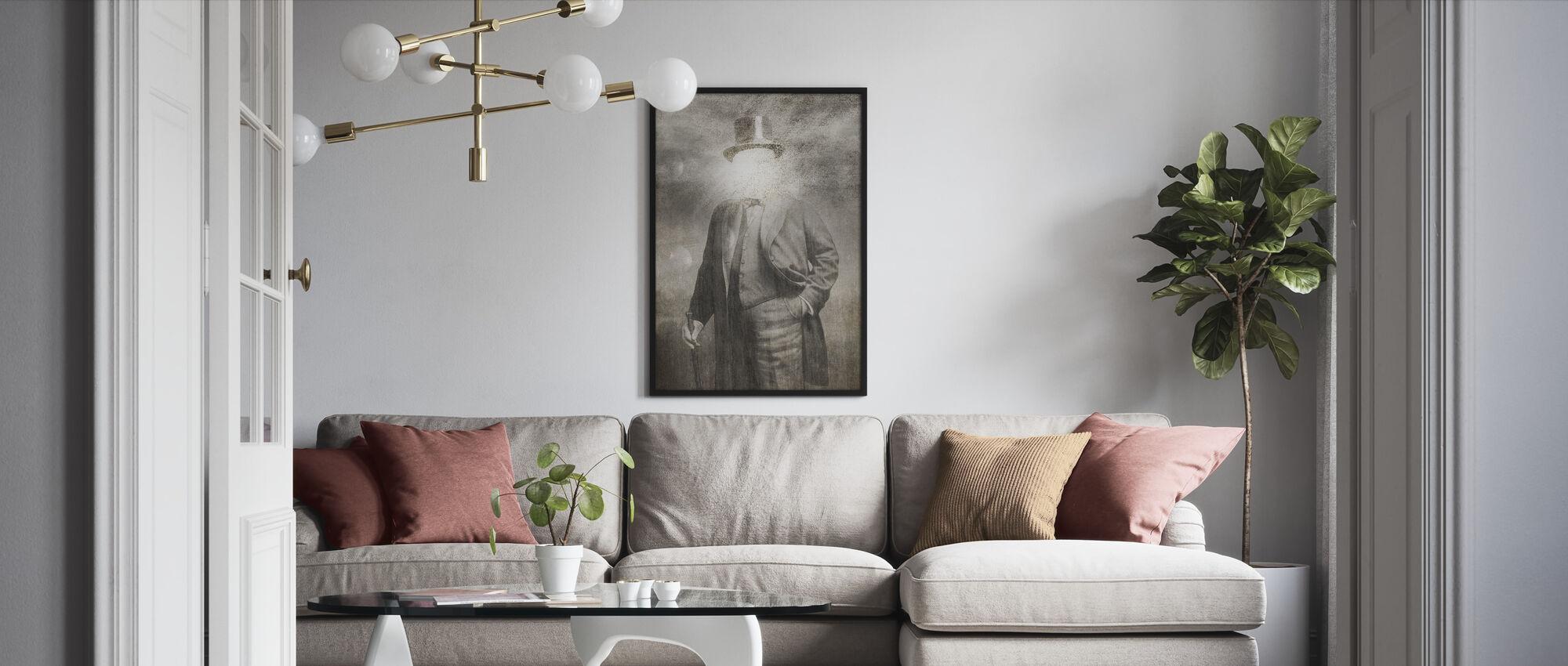 Mr. Sunshine - Framed print - Living Room