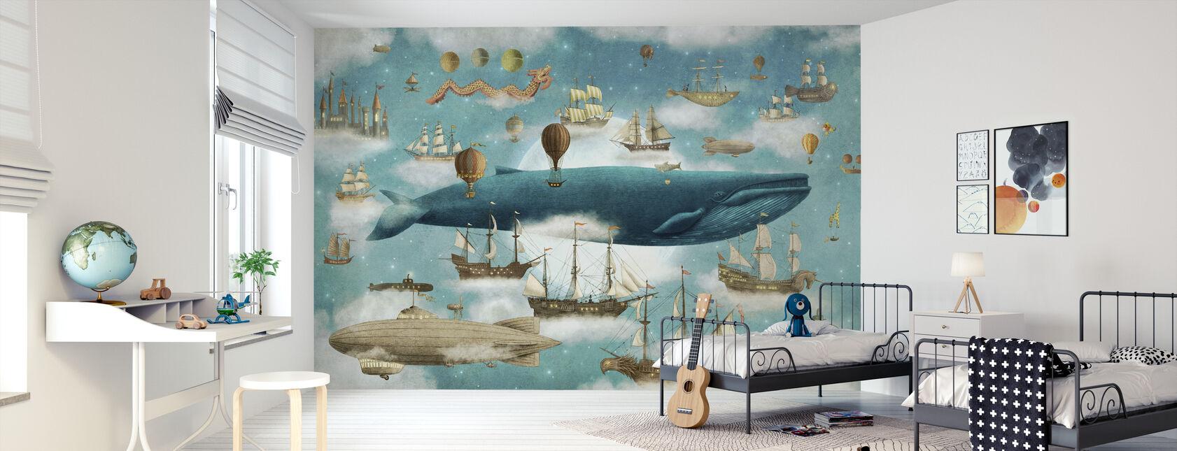 Ocean Meets Sky Cover - Papier peint - Chambre des enfants