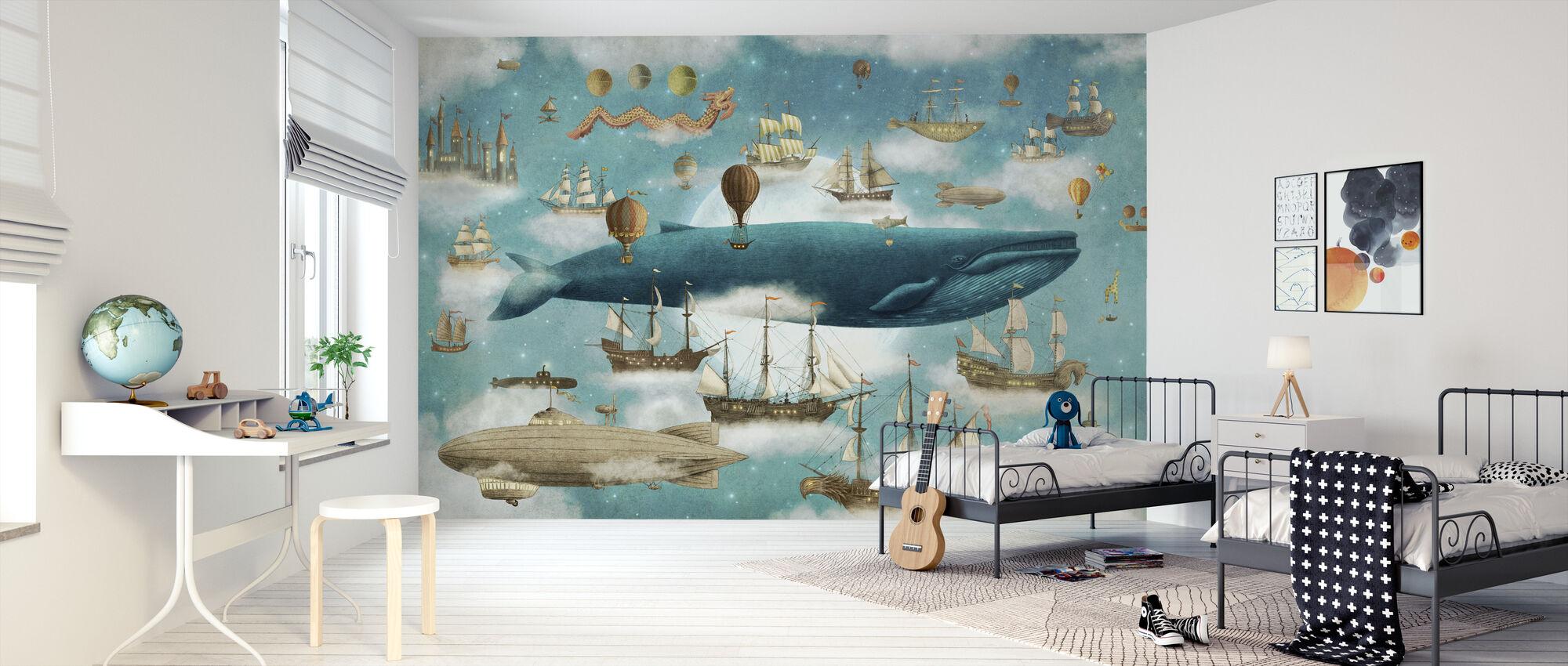 Ocean Meets Sky Cover - Wallpaper - Kids Room