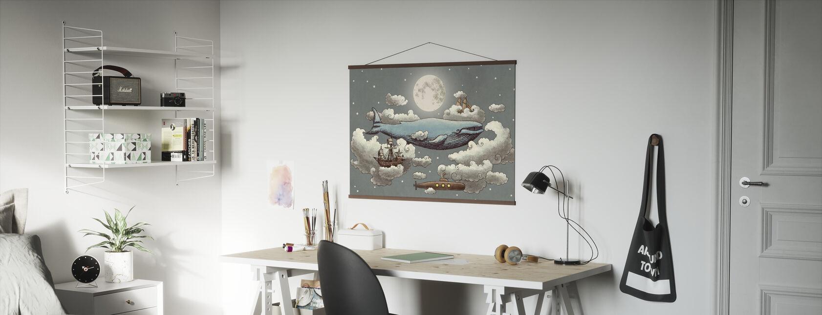 Ocean Meets Sky Original - Poster - Office