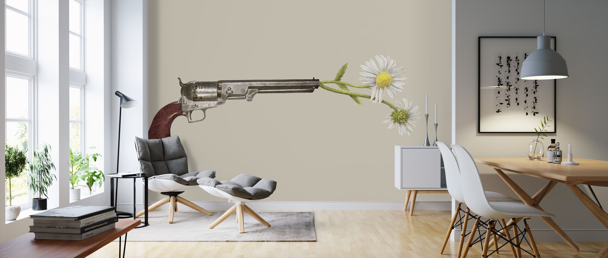 Peacemaker - Wallpaper - Living Room