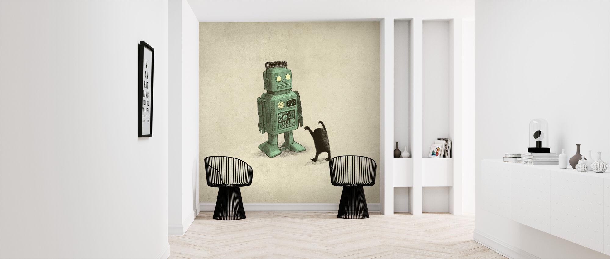 Robot vs Alien - Tapet - Entré