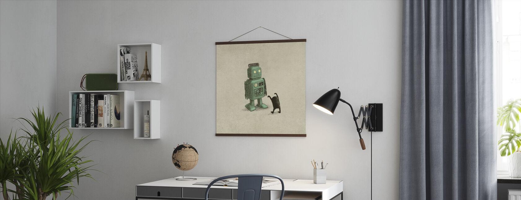 Robot vs Alien - Plakat - Kontor