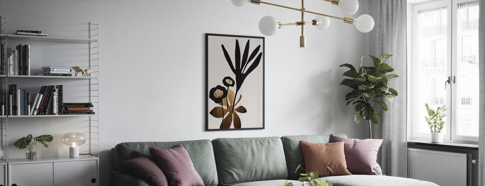 Blossom Beauty - Gerahmtes bild - Wohnzimmer
