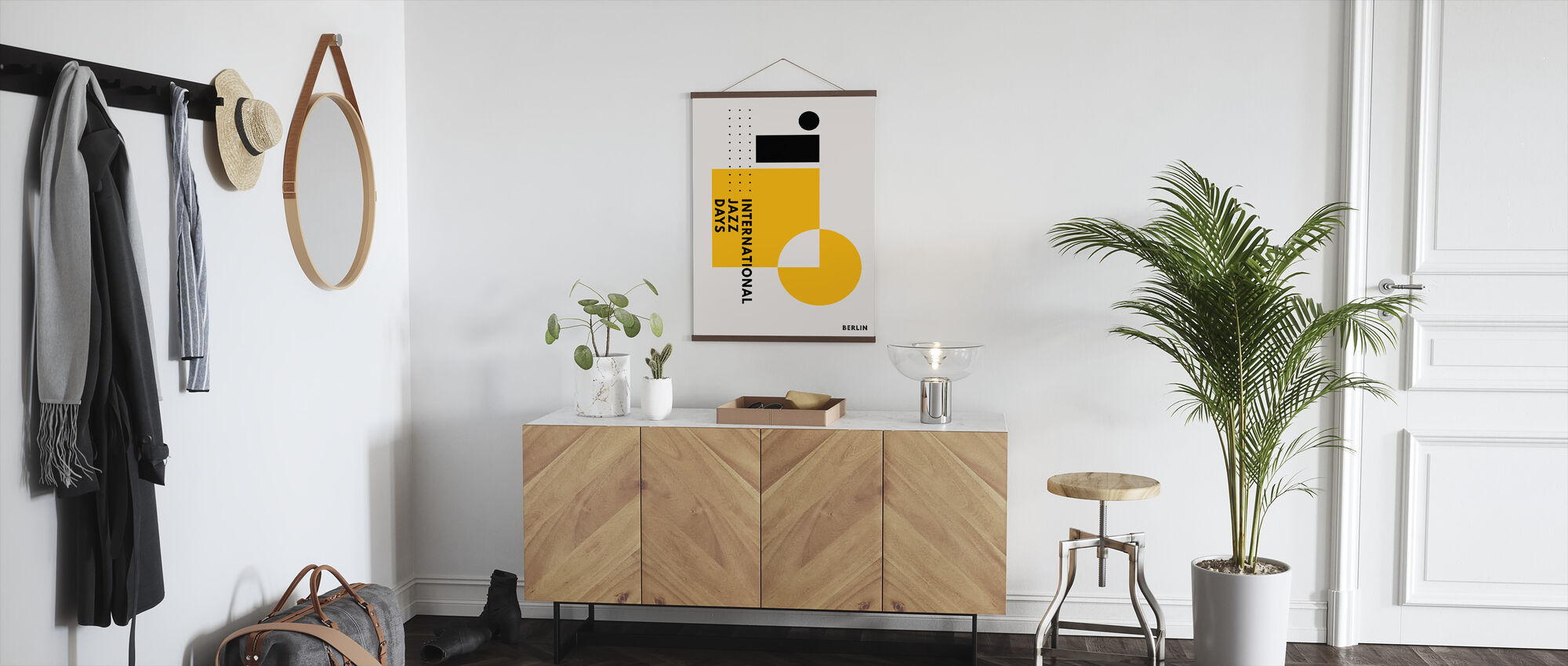 Jazz Days Berlin - Yellow - Poster - Hallway