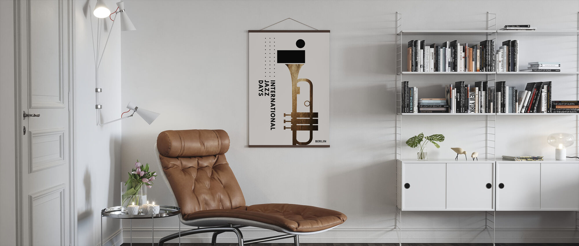 Jazzy Days II - Poster - Living Room