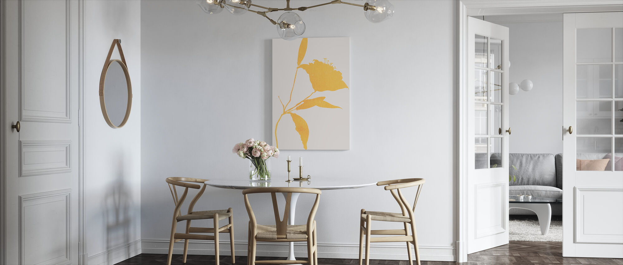 Sunflower - Canvas print - Kitchen