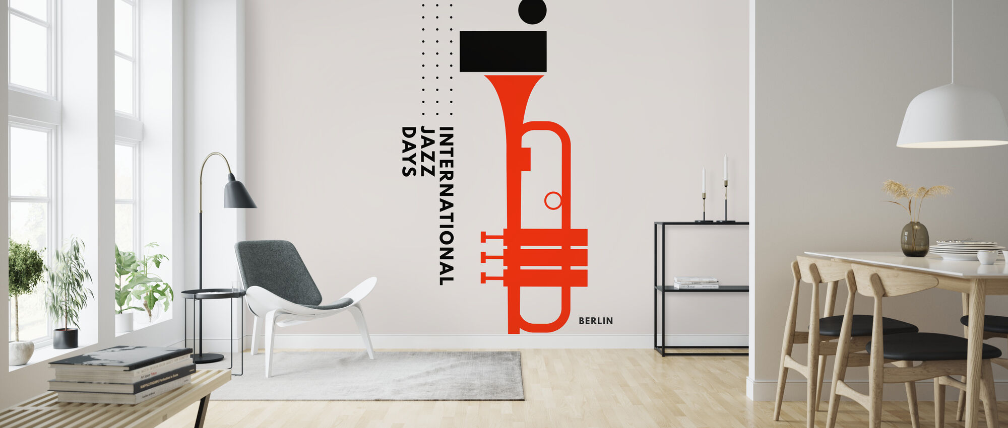 Jazz Päivät Berliini - Tapetti - Olohuone