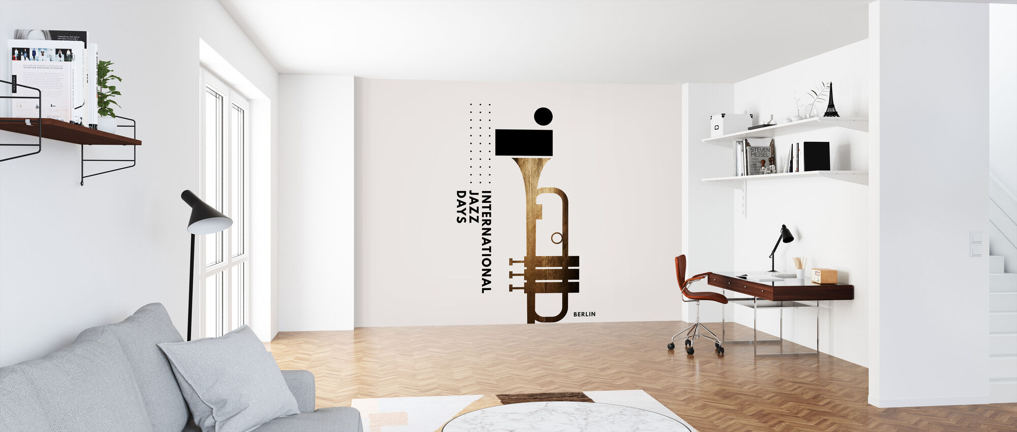 Jazzy Days - Wallpaper - Office