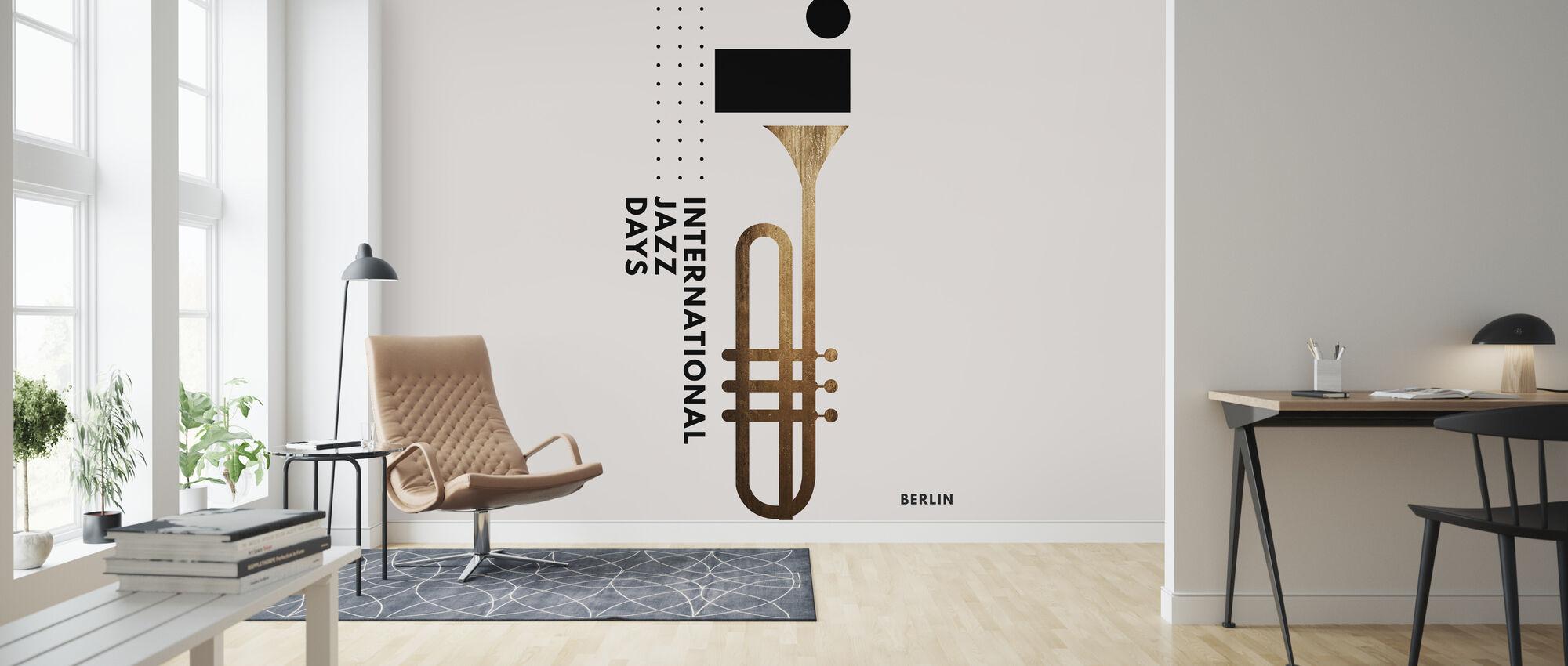 Jazzy Days II - Wallpaper - Living Room