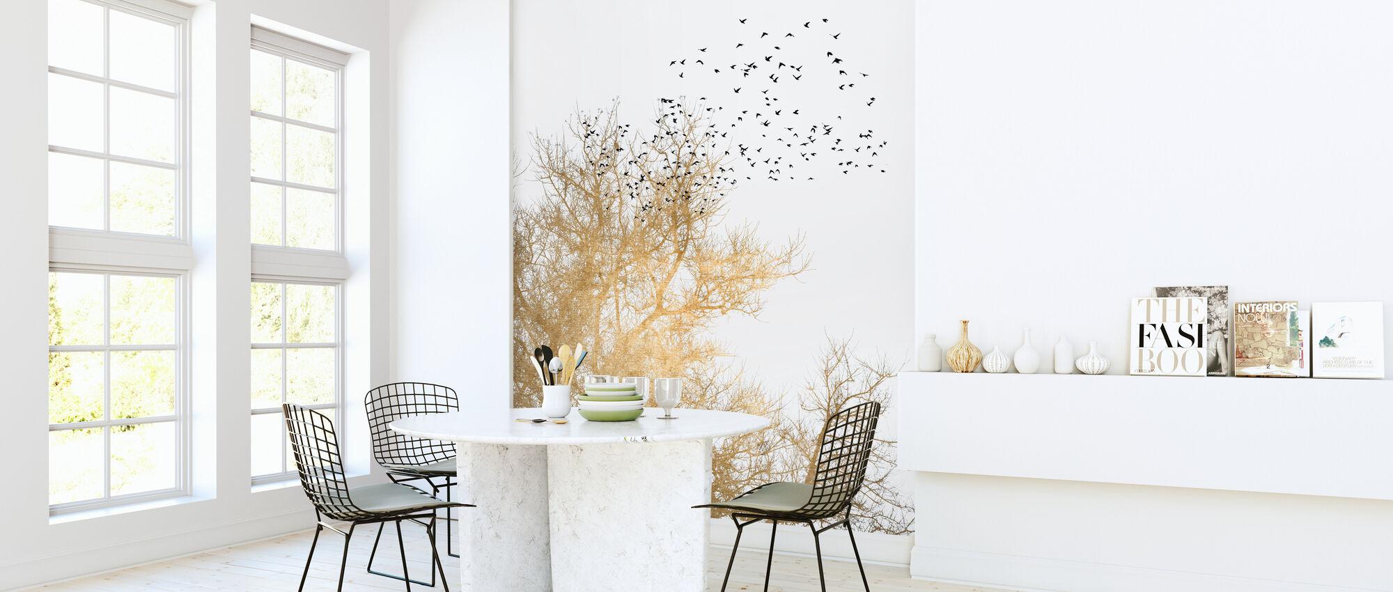 Gouden Luchten - Behang - Keuken