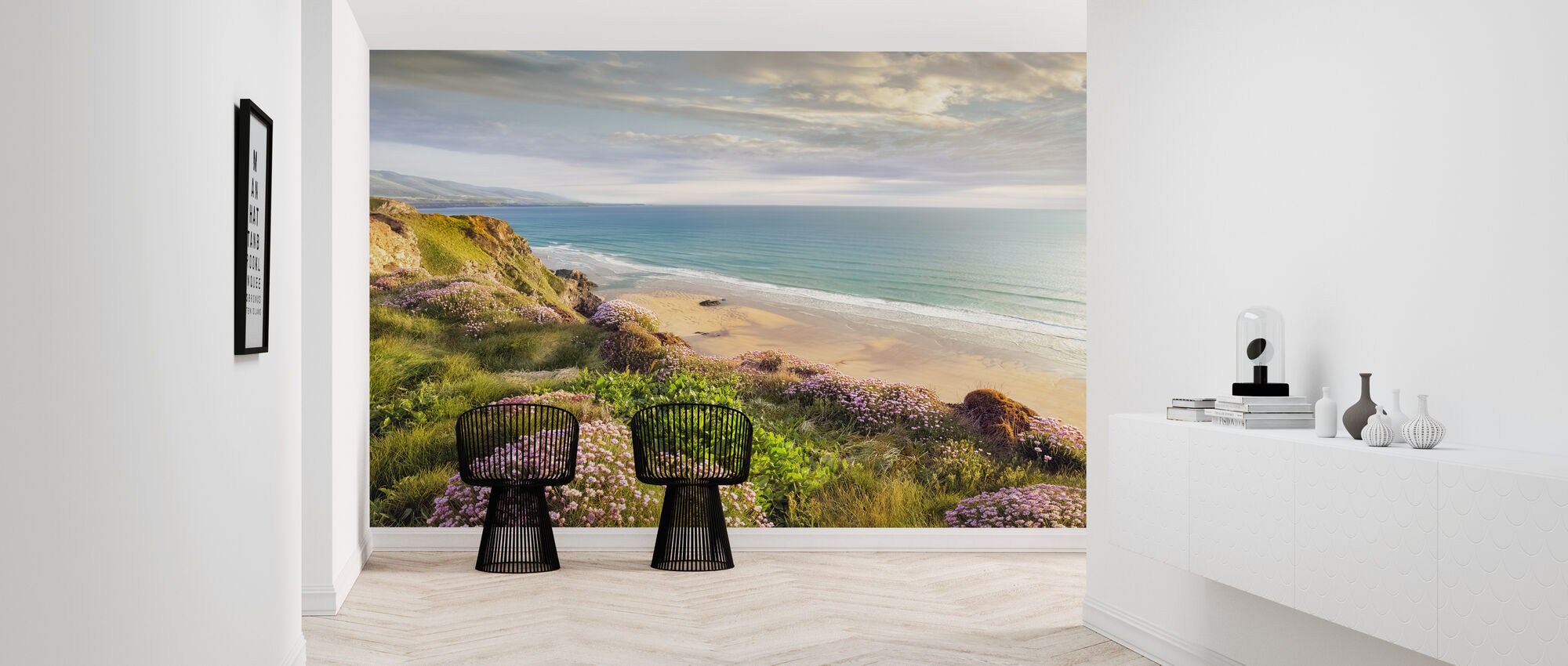 Beach Flower - Wallpaper - Hallway