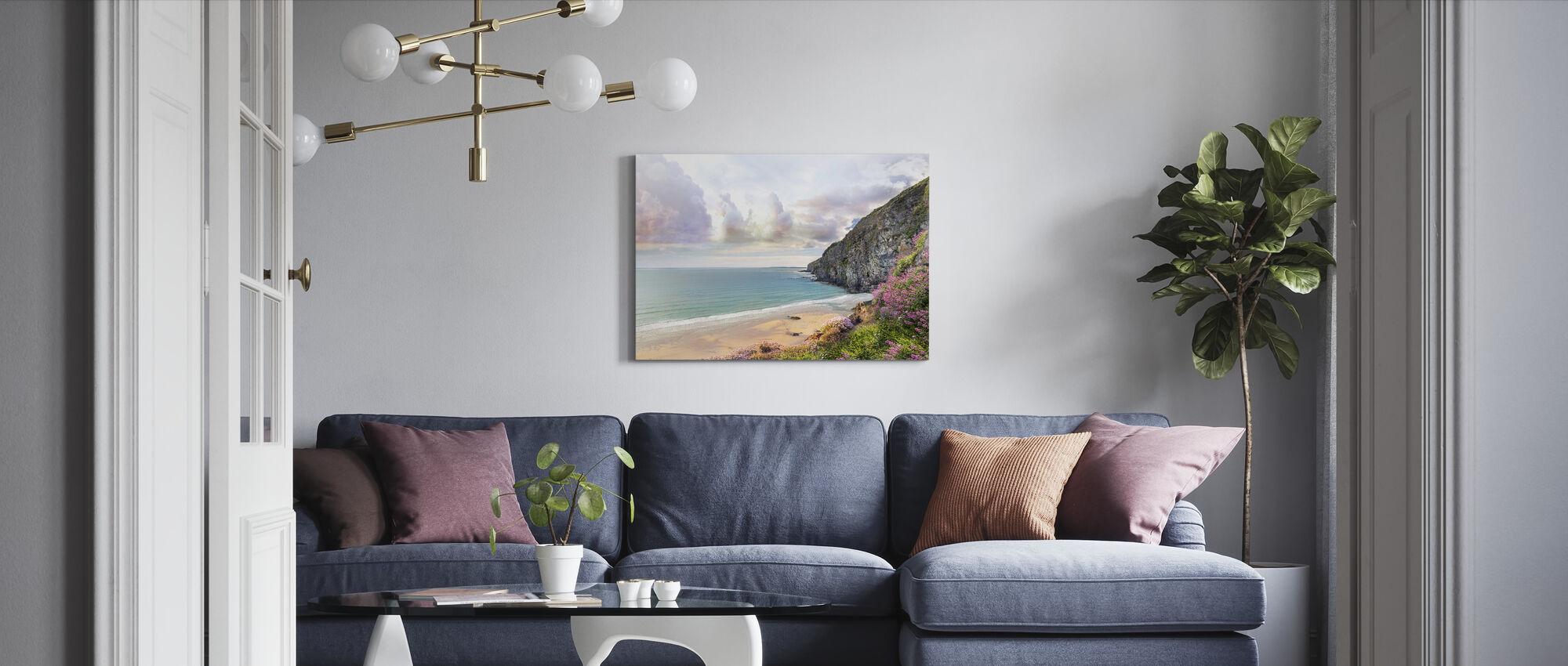 Beautiful Beach Shore - Canvas print - Living Room