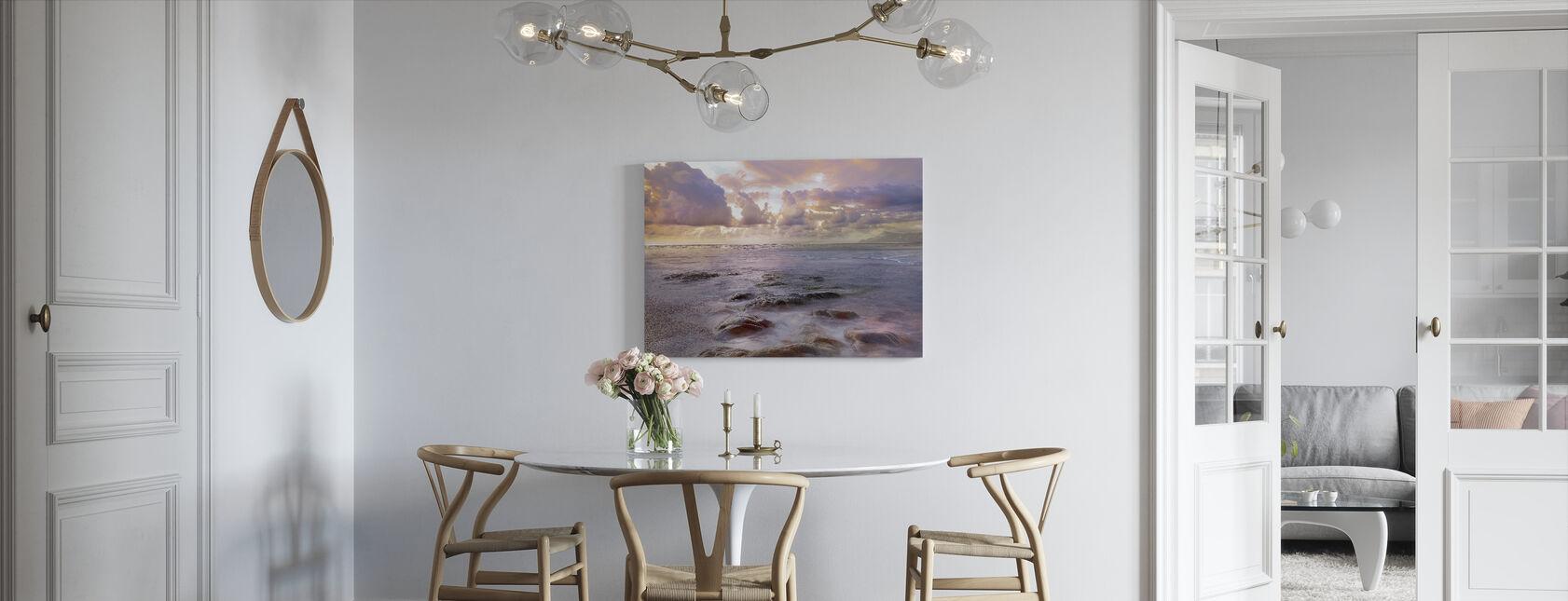 Blue Way - Canvas print - Kitchen
