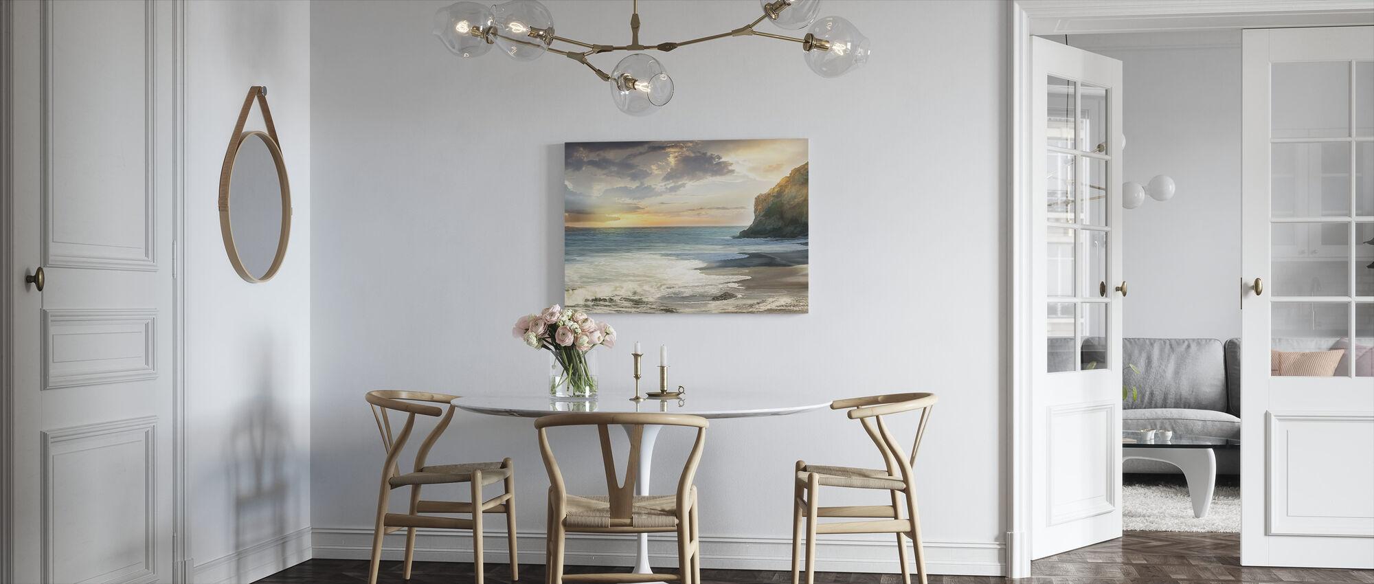 Rock Beach Seaside - Canvas print - Kitchen