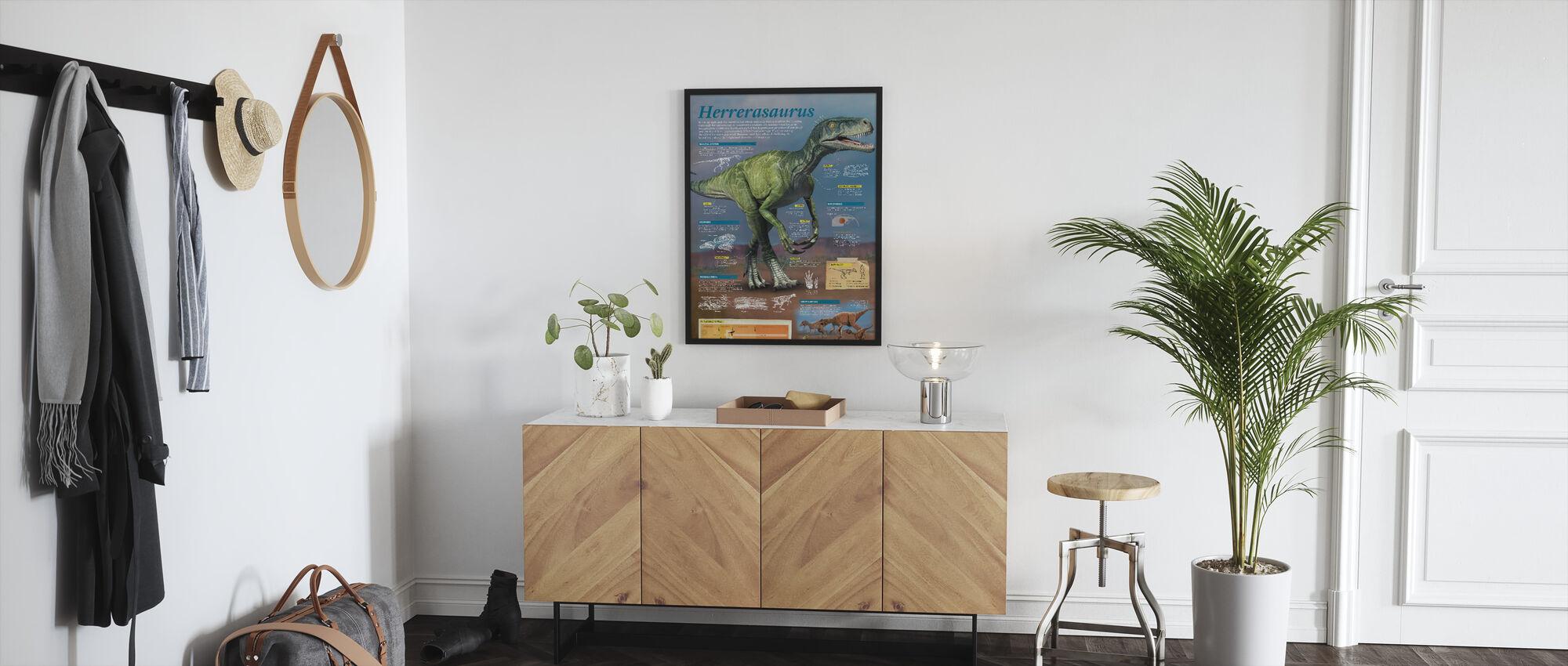 Herrerasaurus - Innrammet bilde - Gang