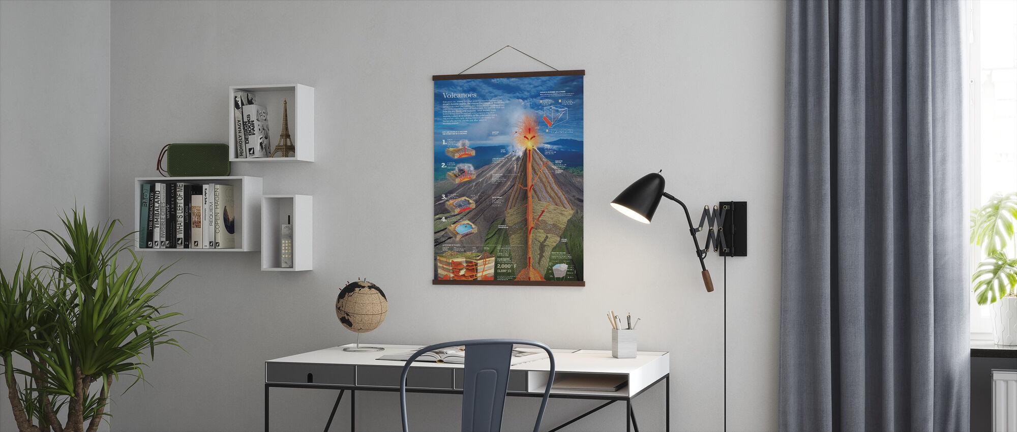 Tulivuoria - Juliste - Toimisto