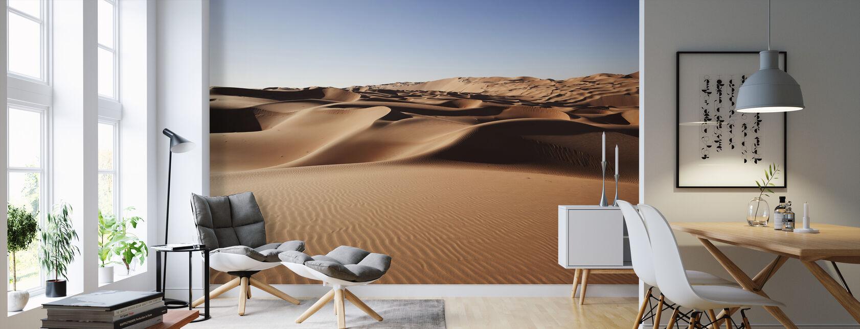 Dunas de arena del desierto - Papel pintado - Salón