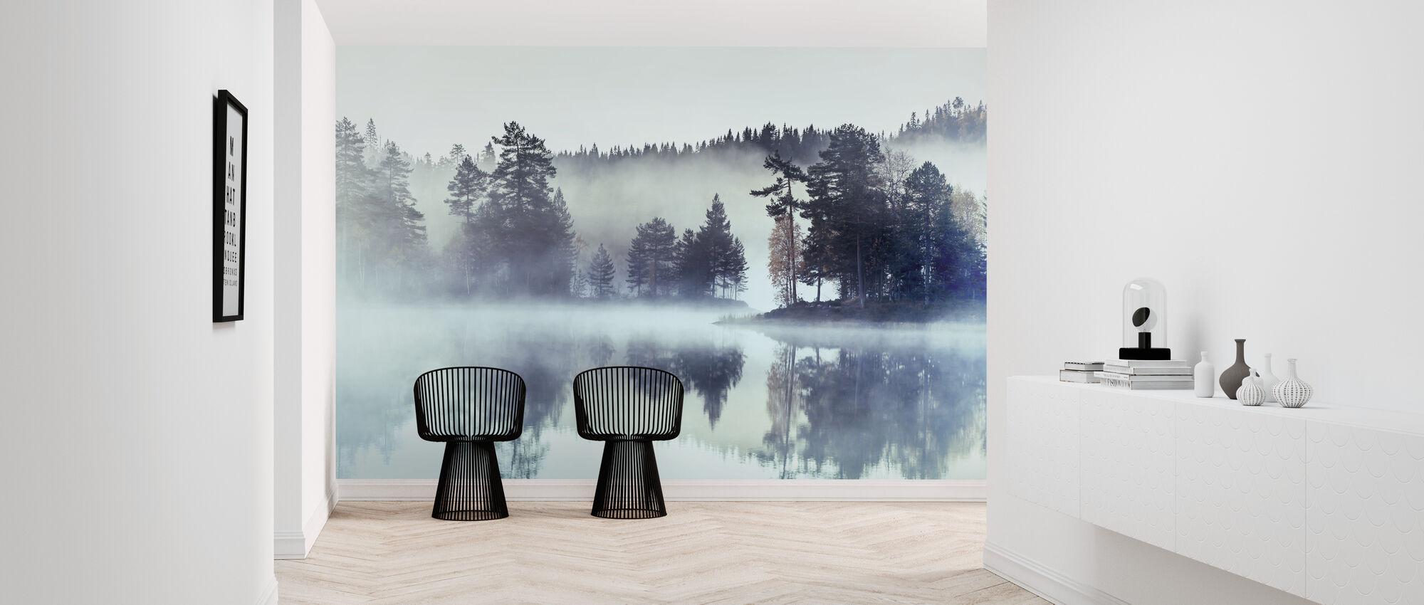 Forest Fog and Mist - Wallpaper - Hallway