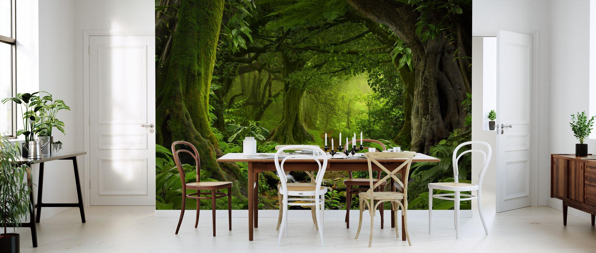 Tropical Jungle - Wallpaper - Kitchen