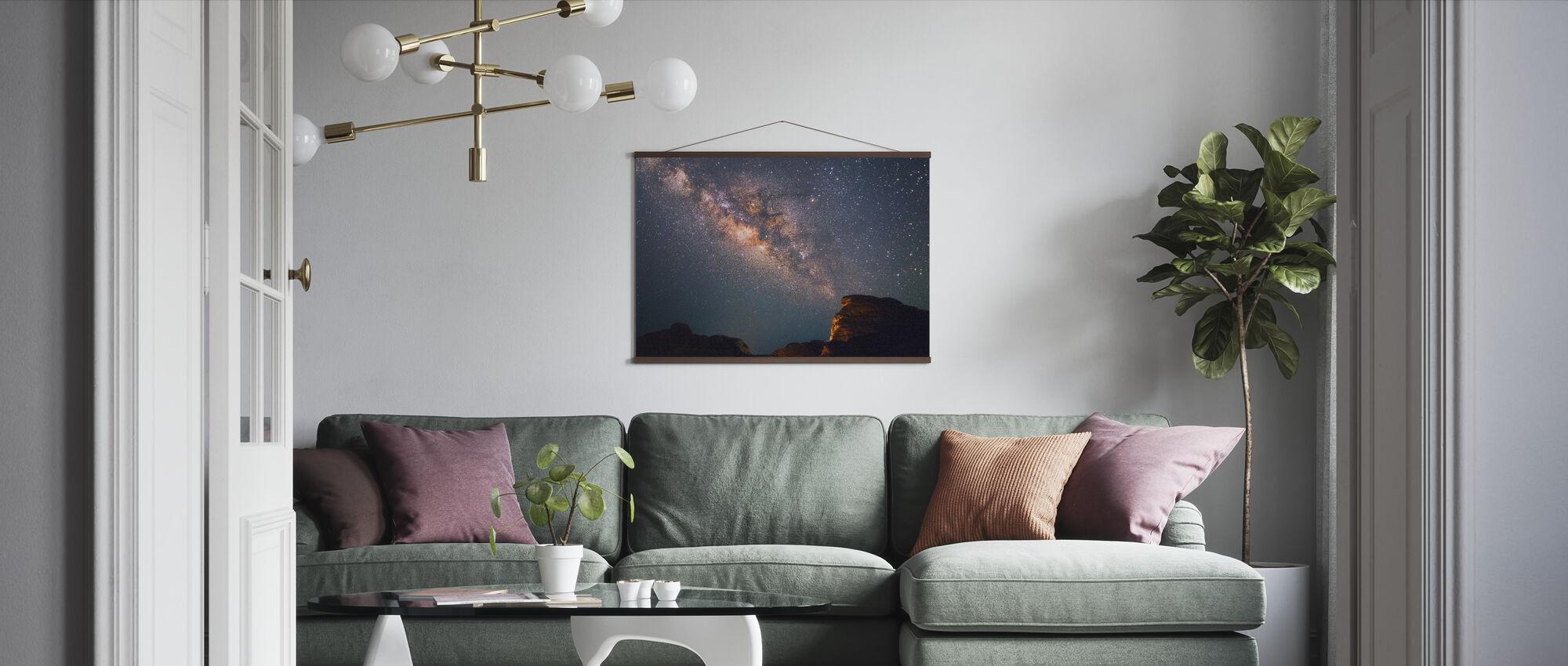 Stjerner over Grand Canyon - Plakat - Stue