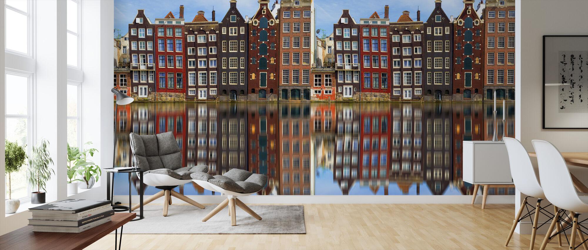 Old Amsterdam Houses - Wallpaper - Living Room